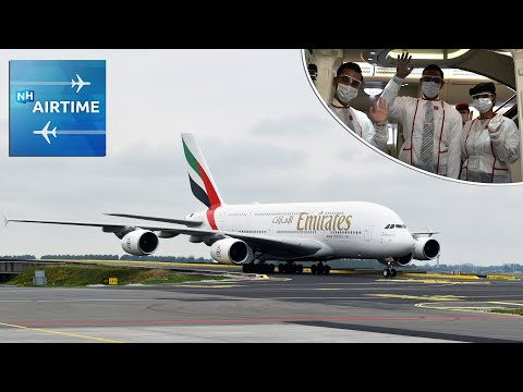 NH AIRTIME S06E01 (NL) | Coronaproof in de Emirates Airbus A380 op Schiphol