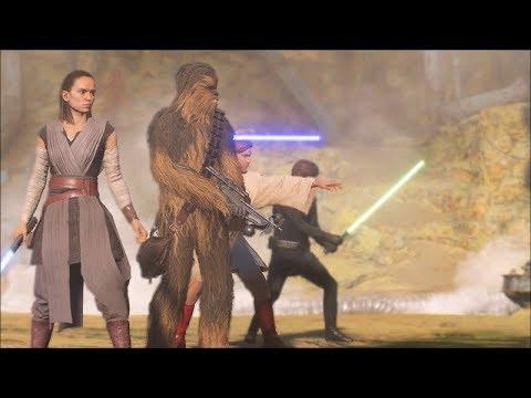 Star Wars Battlefront 2 Heroes Vs Villains 572 Rey MVP Dominance thumbnail