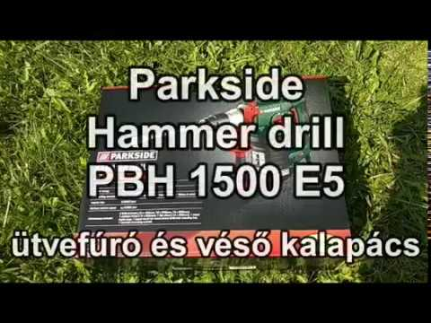 Repeat 46 Parkside Bohrhammer Pbh 1500 D4 Bohren By 45mm