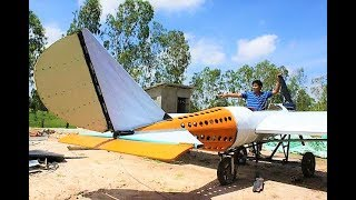 Cambodian Mechanic Fearlessly Chases His Dream Of Building A Working Airplane