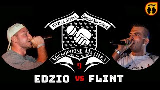 EDZIO vs FLINT @ Microphone Masters 9 @ freestyle battle
