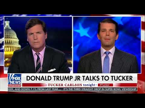 Donald Trump Jr on Memo: First Time in History Media Argued for Less Information