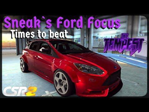 CSR Racing 2 - Tempest 3 Tier 1 - Times to beat - Sneak`s Focus TrackSTer