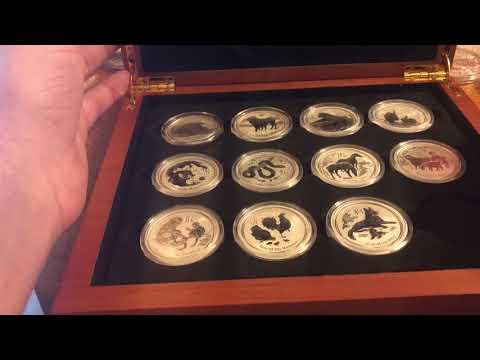Buying into coin series - A case study of 1 oz silver Congo gorillas