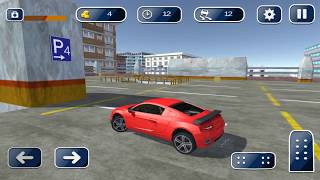 Multi-level Car Driving & Parking Simulator 2018 - Gameplay Android game