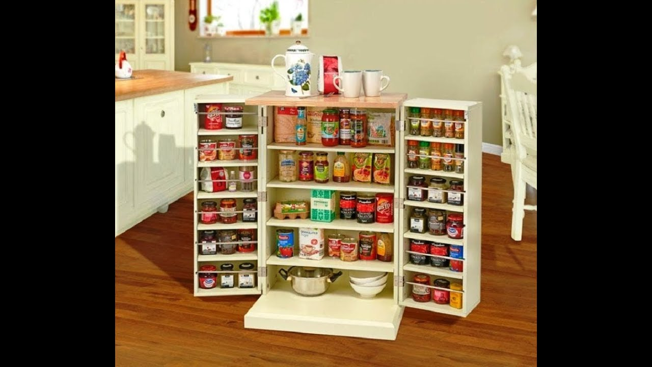 Kitchen Pantry Cabinets Freestanding 2 Seater Table Set Cabinet Youtube