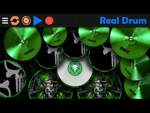 Real Drum ( хорошая ударная установка для телефона )