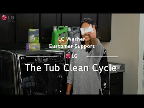 LG Washer - The Tub Clean Cycle