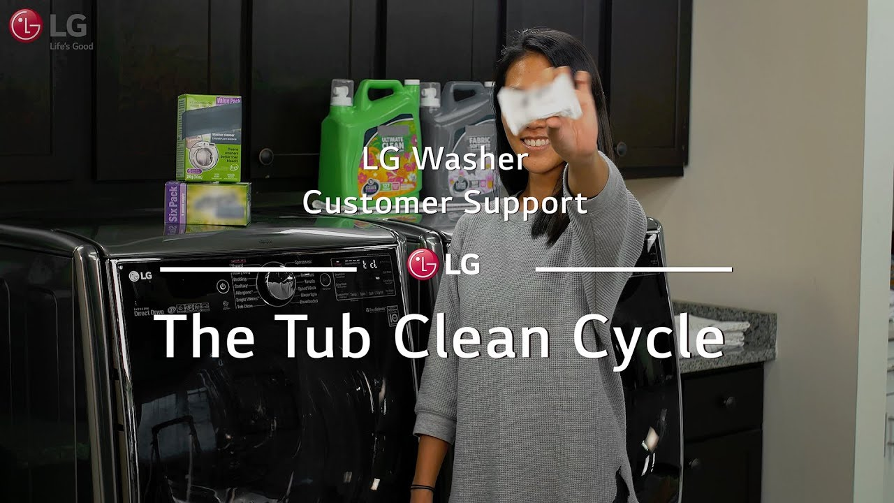 Lg Washer The Tub Clean Cycle