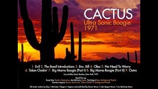 Cactus - The Ultra Sonic Boogie (1971 NY) 🇺🇸 Hard/Heavy Blues Rock