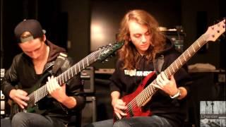 Chorder - Shrapnel (Official Guitar/Bass Playthrough)