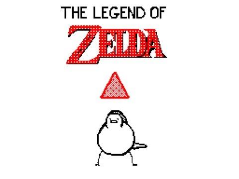 The legend of Zelda but with birds