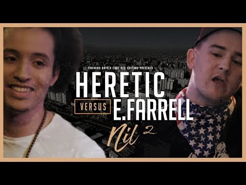 Code Red | HERETIC VS E.FARRELL | Rap Battle
