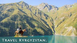 The Best Adventure Trek From Toktogul To Sary-Chelek Lake.