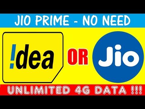 अब Idea देगा Unlimited 4g Data !