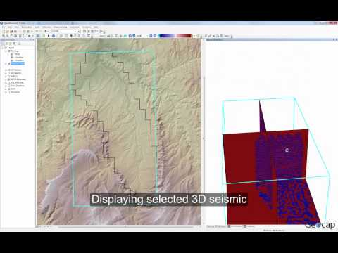 Seismic Explorer for ArcGIS – Reading 2D and 3D seismic
