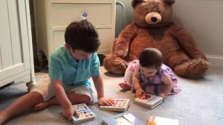 Lesson 2: tips for reading with toddlers (from my 2.5 year old toddler :)