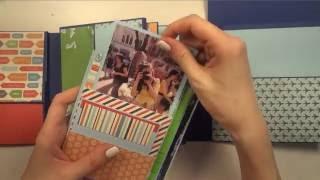 РЕЛИЗ Фото папка mini 4 - Скрапбукинг мастер-класс / Aida Handmade