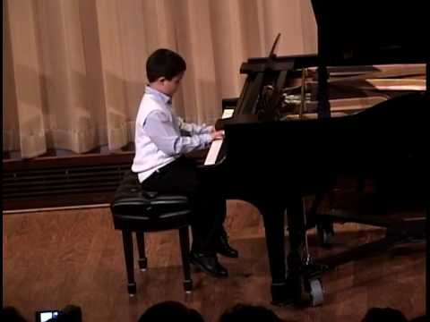 Autism's Gifts -Zachary's Piano Recital 2010