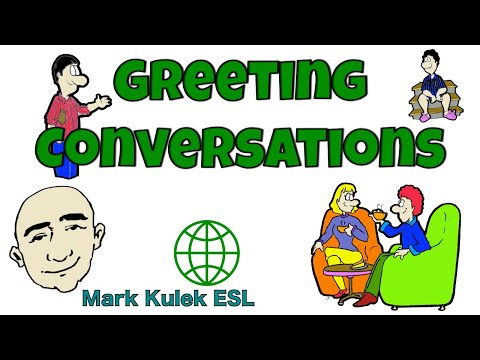 Greeting Conversations |  English Speaking Practice | ESL | EFL