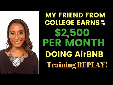 My friend makes up to $2,500 a month doing Air BNB instead of yearly leases!