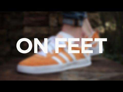 3d56c777 ON FEET: Adidas Palace Pro - Pumpkin - YouTube