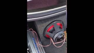 2400 1d hifonics zues amp and 2 audiopipe txx bd1 12