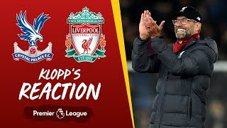 Klopp's reaction: Late wins, Salah fitness and more | Crystal Palace vs Liverpool