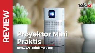 Review BenQ GV1 Mini Projector Indonesia - proyektor yang bisa dibawa-bawa