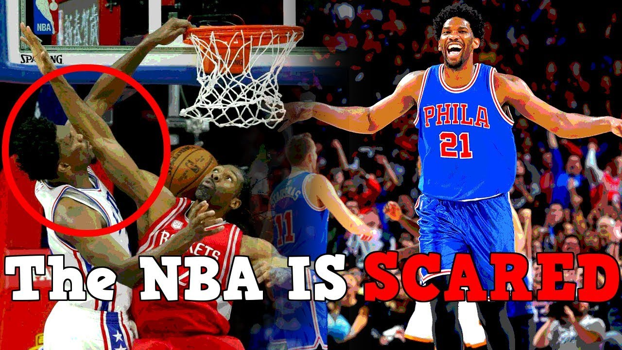 7fac03d31e3c Why The ENTIRE NBA is SCARED of Joel Embiid! - YouTube