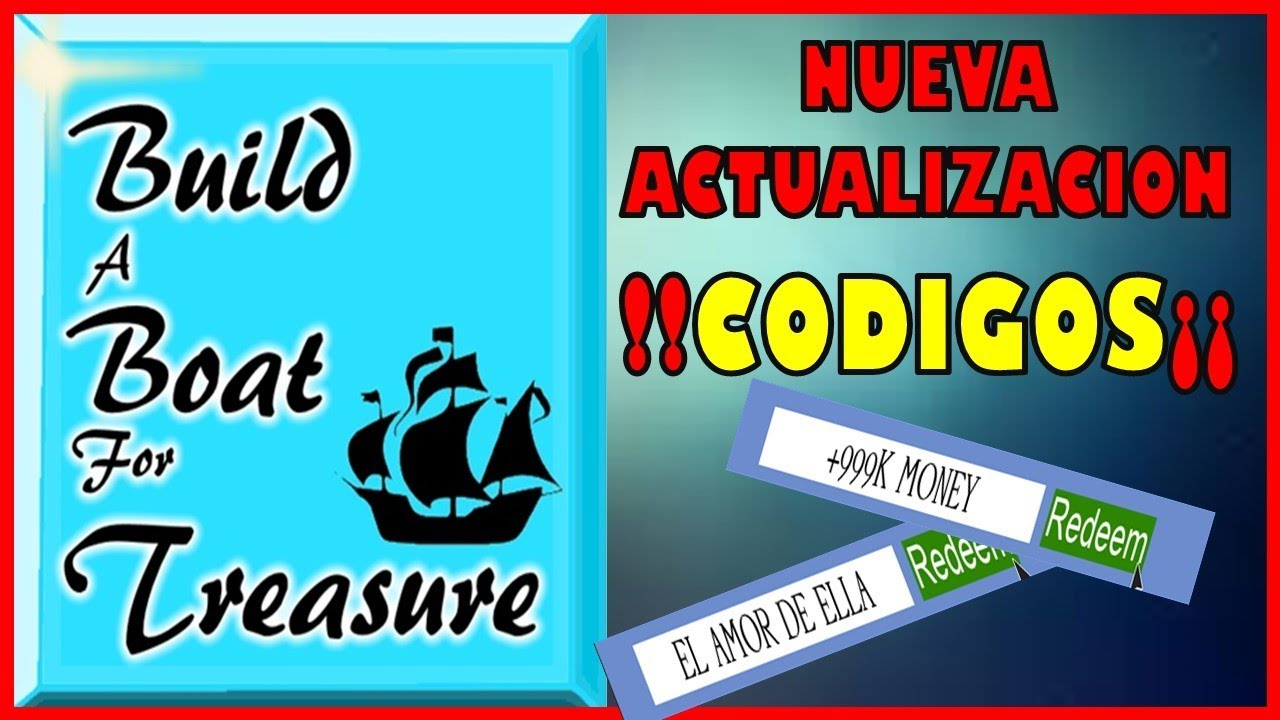 !!!CODIGOS¡¡¡ BUILD BOAT FOR TREASURE. NEW UPDATE. ROBLOX ...