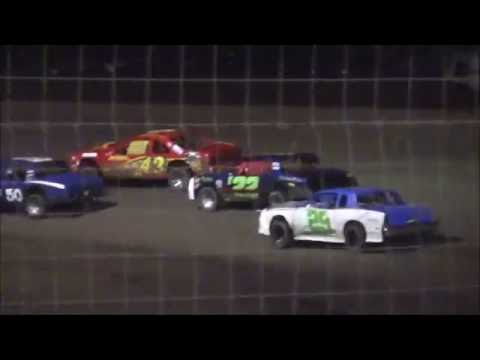 Street Stocks at Lubbock Speedway 8-19-16
