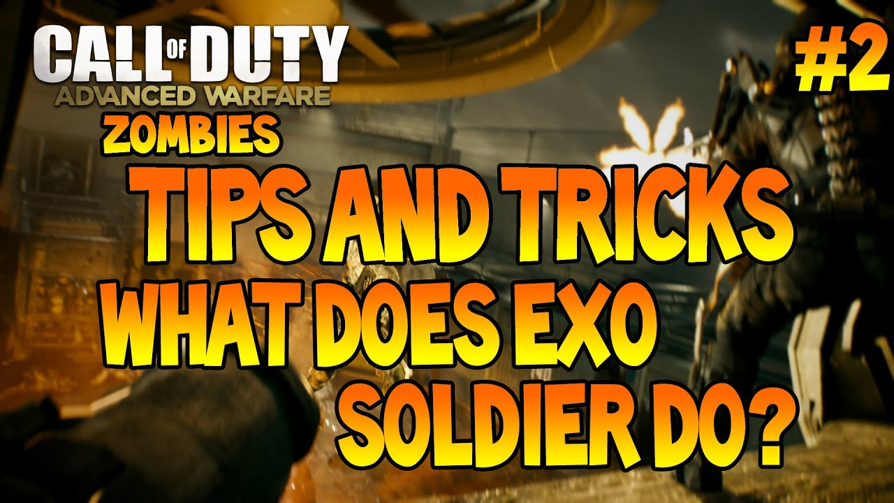 Advanced warfare zombies what does exo soldier do 2 youtube