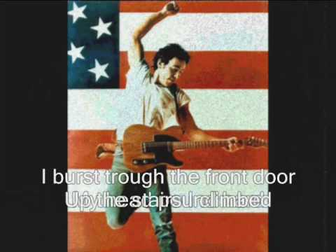 Bruce Springsteen-  Downbound Train (with lyrics)