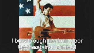 Bruce Springsteen-  Downbound Train (with lyrics)