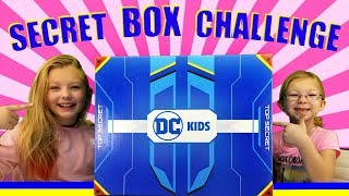 DC Kids Secret Box Challenge - AQUAMAN Trailer!!!