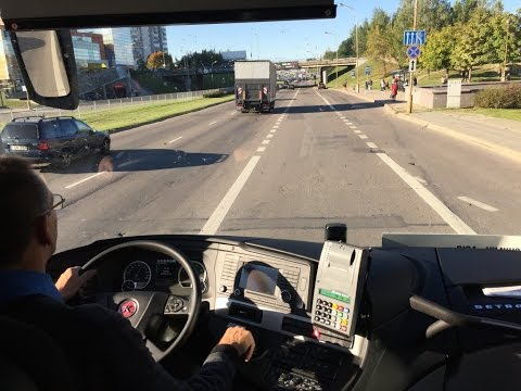 Bus Review: Lithuania to Latvia. Euro-Lines Journey