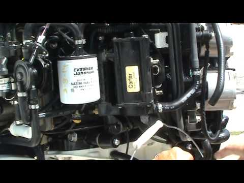 2011 225 Etec Vst Water Port Test For Gas 3 15 14 Youtube