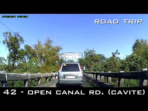 Road Trip #42 - Open Canal Road (Dasma To Imus) - Cavite Detour Adventures