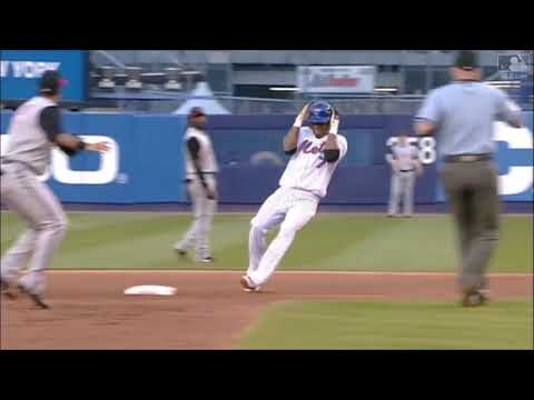 Jose Reyes Hits For The Cycle