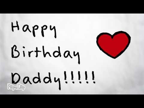 Happy Birthday Daddy!!  ❤🎂