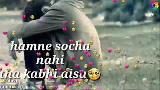 Rukh zindagi ne mod liya kaisa | sad WhatsApp status video | shivangi | sanjit creations