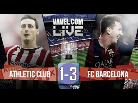 Barcelona 3-1 Athletic Bilbao • Full match • Final Copa del Rey 2015.