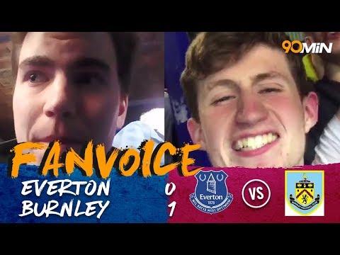 Hendrick goal seals Burnley's victory at Goodison Park| Everton 0-1 Burnley | 90min FanVoice