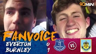 Hendrick goal seals Burnley's victory at Goodison Park| Everton 0-1 Burnley | 90min FanVoice