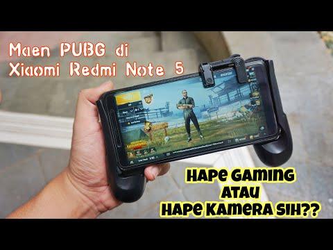 Main Game PUBG Di Xiaomi Redmi Note 5??? Emang Seru??