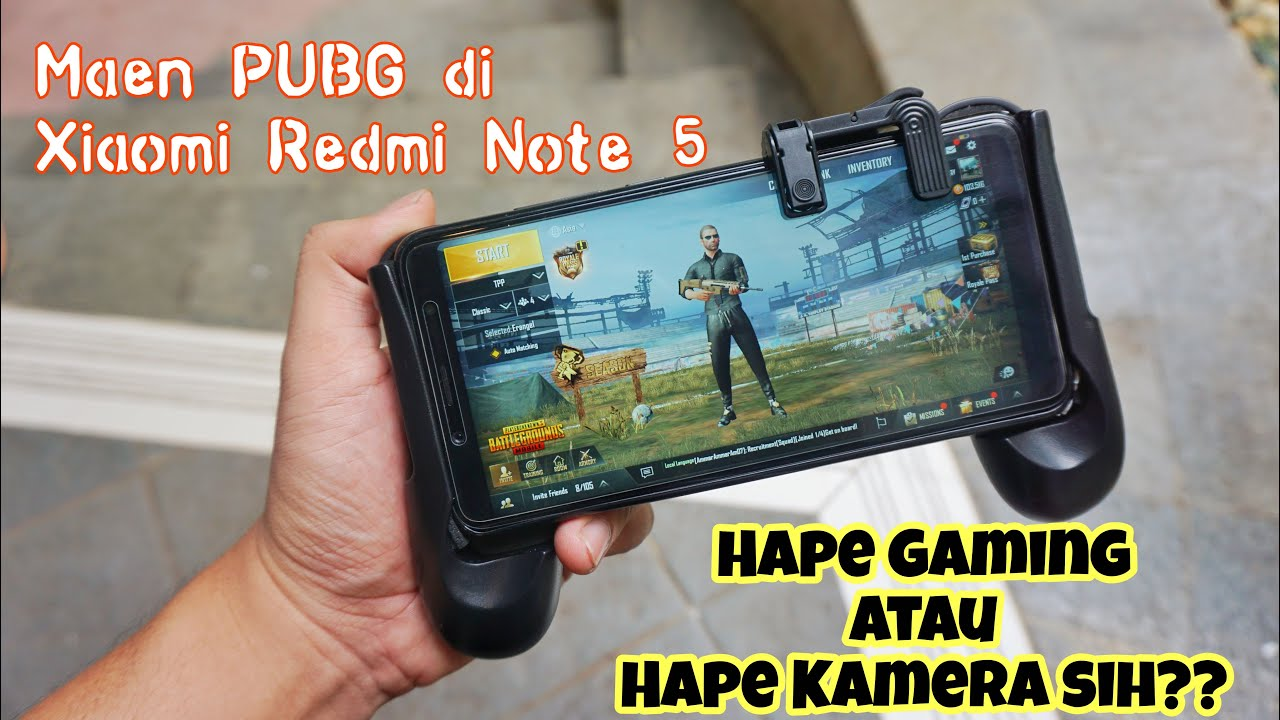 Pubg Hd Redmi Note 5: Main Game PUBG Di Xiaomi Redmi Note 5??? Emang Seru