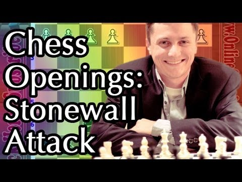 Beginner Chess Openings -  ⚔️ The Stonewall Attack - Greek Gift Sacrifice