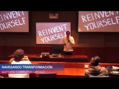 Navegando transformación - Matthew Carpenter-Arévalo