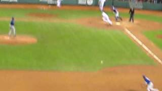 Michael Young Robs Dustin Pedroia